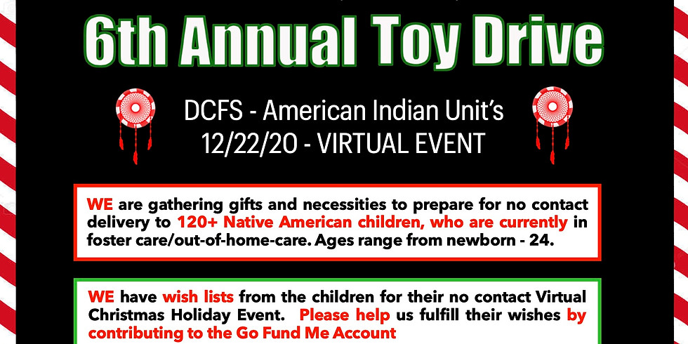 6th Annual Toy Drive - Virtual Event