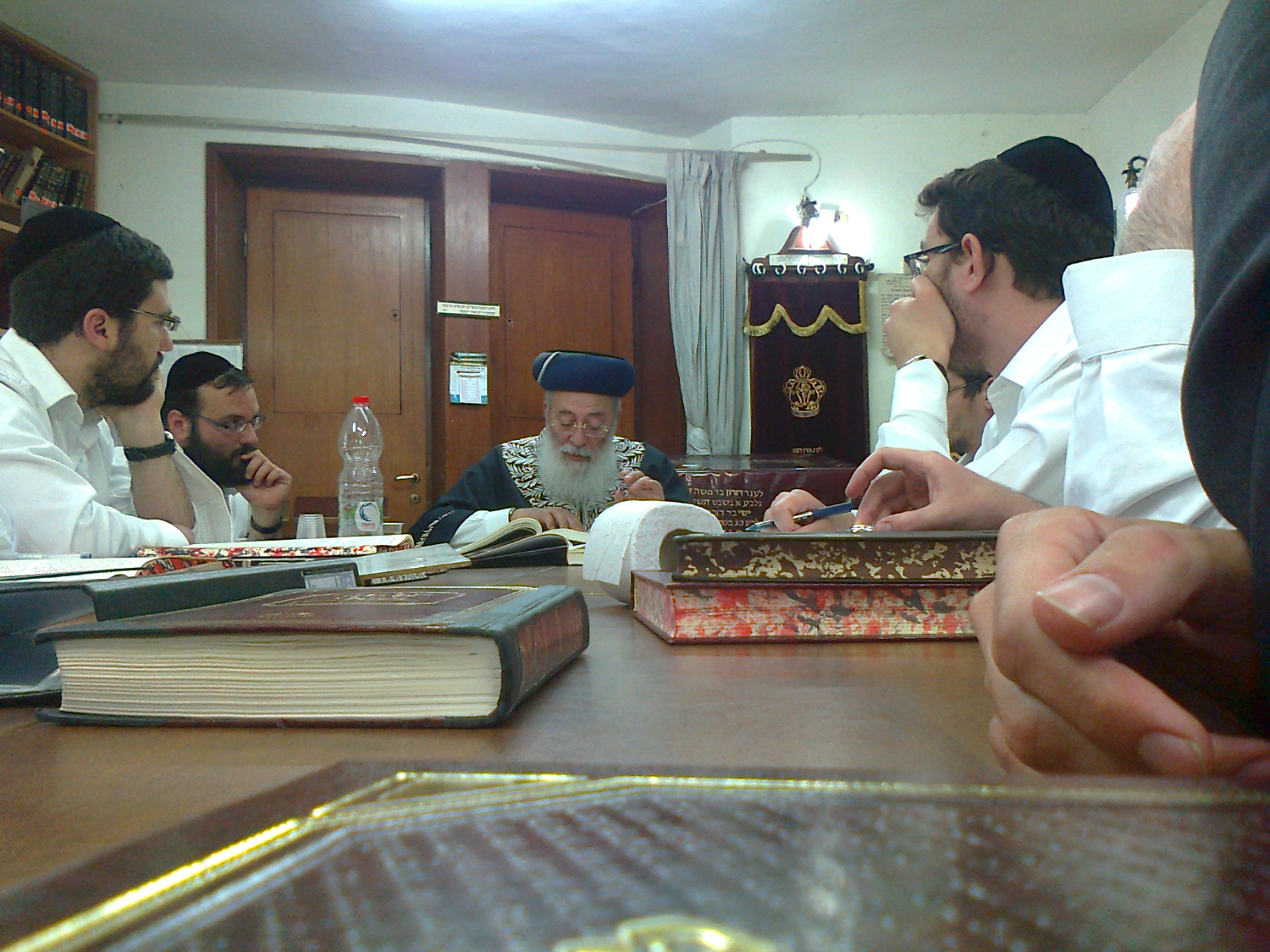 Lessons in the Beit Medresh