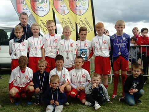U11 de ES Coutances champions du Département de la Manche