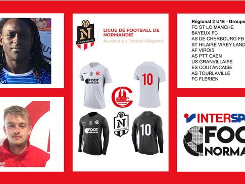 Spécial U16 Régional 2 Ligue Normandie