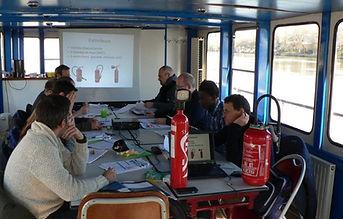 formation sécurité à bord du Francilien