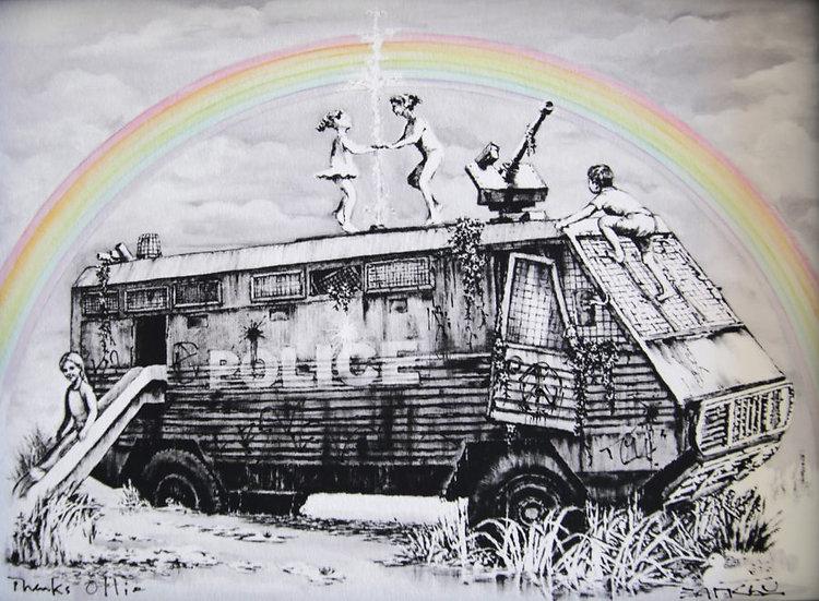 Banksy - Dismaland Gift Print
