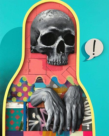 Michael Reeder - Primal Scream (Framed)