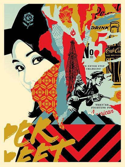 Shepard Fairey - Drink Crude Oil