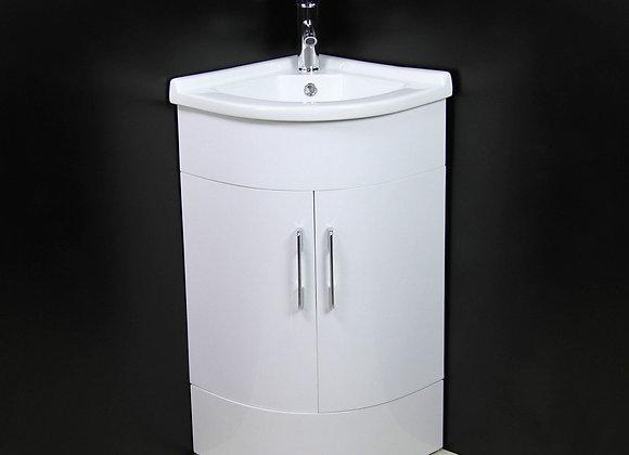 Vanity Unit Cabinet Basin Corner Cloakroom NEW Style