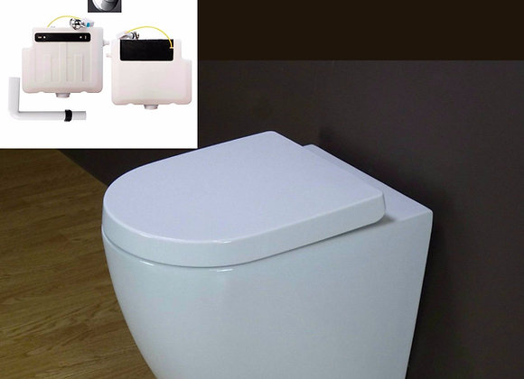 Toilet Back to wall Concealed Cistern Seat Cover
