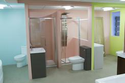 Bathroom store, Luton, UK