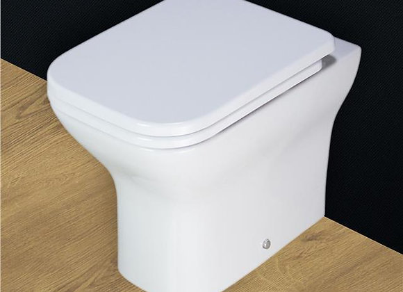 Back to wall Toilet WC Heavy Duty Soft Closing Seat