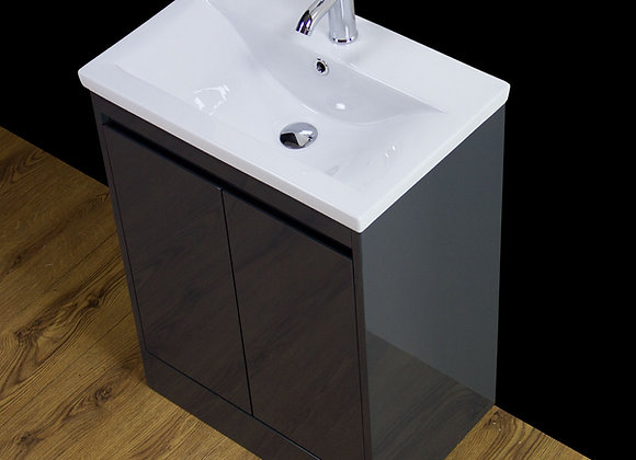 Vanity Cabinet Basin Sink Floor standing Cloakroom Tap Waste