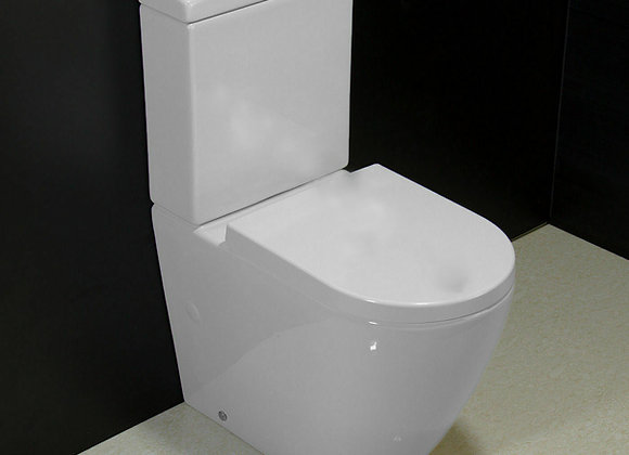 Toilet Coupled WC Soft Closing Seat