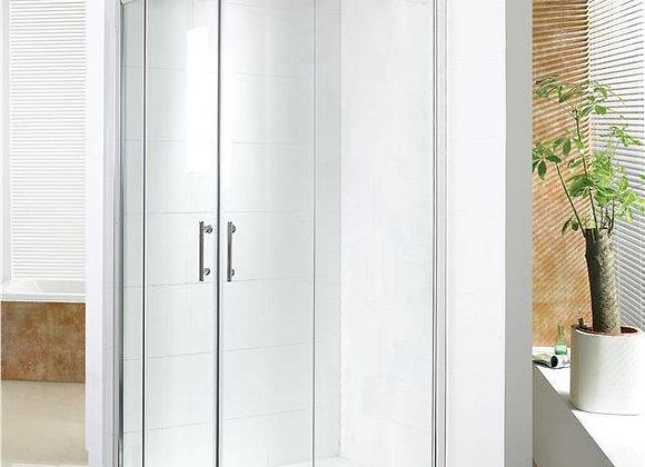 Shower Enclosure Quadrant Corner Walk in Sliding Doors