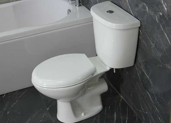 Toilet WC Close Coupled 400 mm pan H