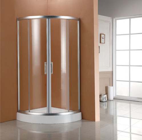 Shower Enclosure Sliding Door Corner