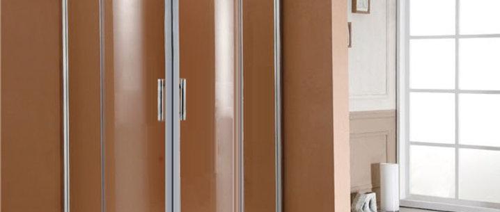 Shower Enclosure Sliding Door Corner 800x800 MM