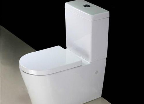 Toilet Close Coupled Slow soft closing heavy duty seat