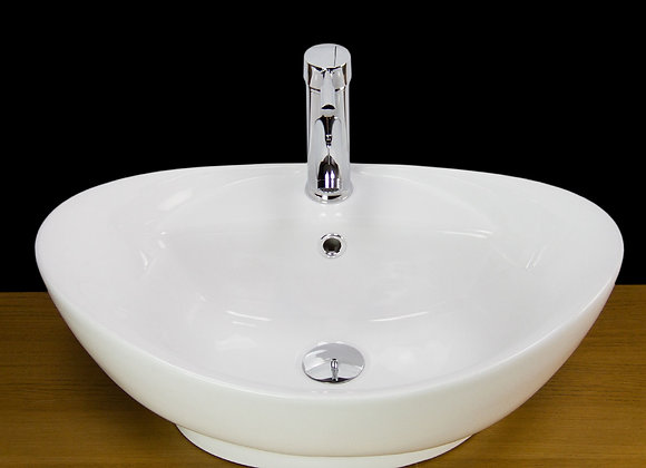 Wash Basin Countertop Vessel Free Tap Waste