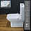 Thumbnail: Toilet WC Close Coupled Bathroom Cloakroom