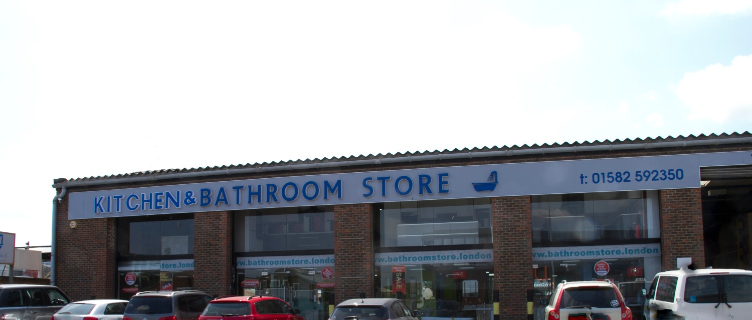 Bathroom store, Luton, UK
