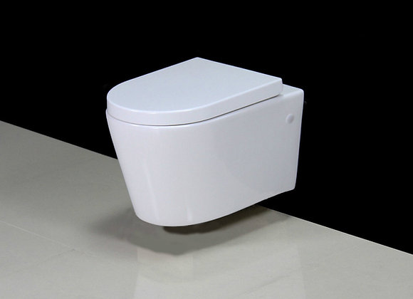 Toilet Wall Hung Soft Close Seat Cover