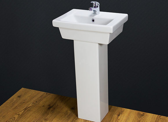 Wash Basin Sink Ceramic Pedestal