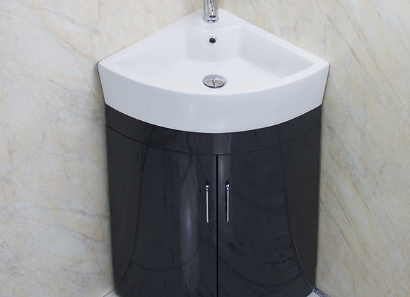 Vanity Unit Cabinet Basin Sink Corner