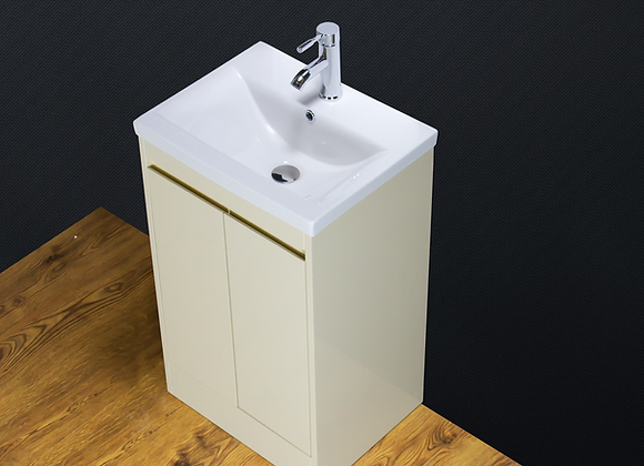 Vanity Unit Cabinet Basin Sink Ceramic Floor standing Tap Waste