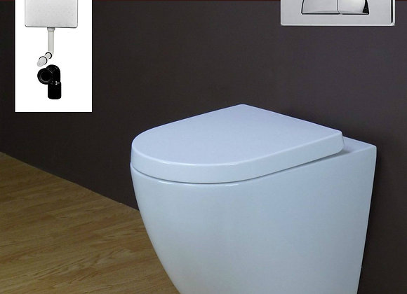Toilet Back to wall Concealed Cistern Seat