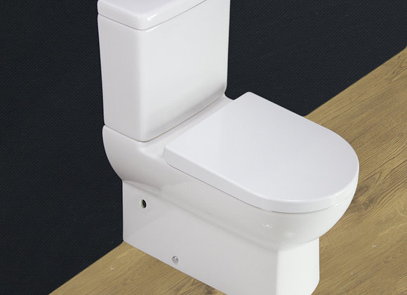 Toilet Close Coupled Seat Cover