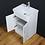 Thumbnail: Vanity Cabinet Basin Sink Ceramic Floorstanding Tap Waste
