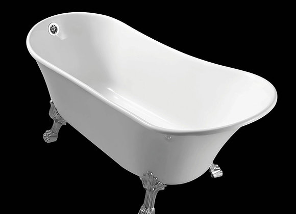 IN STOCK! Bath Tub Bathroom Free standing Acrylic Single Sided