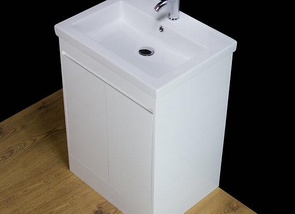 Vanity Cabinet Basin Sink Ceramic Floorstanding Tap Waste
