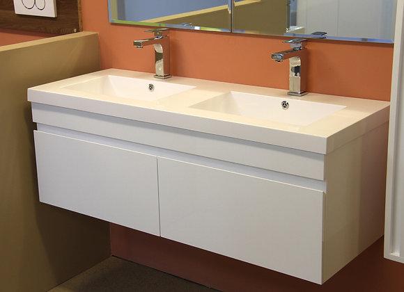 Vanity Unit Cabinet Basin Wall Hung 1200MM
