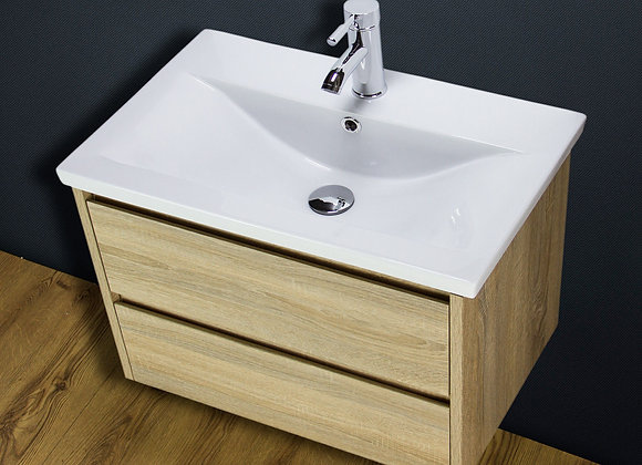 Vanity Unit Cabinet Basin Sink Wall hung mounted Tap Waste