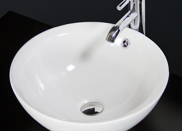 Bathroom Basin Sink Countertop Cloakroom Round