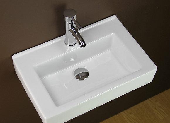 Bathroom Basin Sink Wall Mounted hung