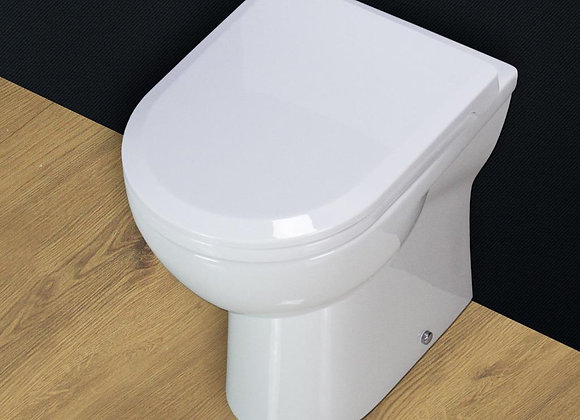 Toilet WC Back To Wall Compact Cloakroom