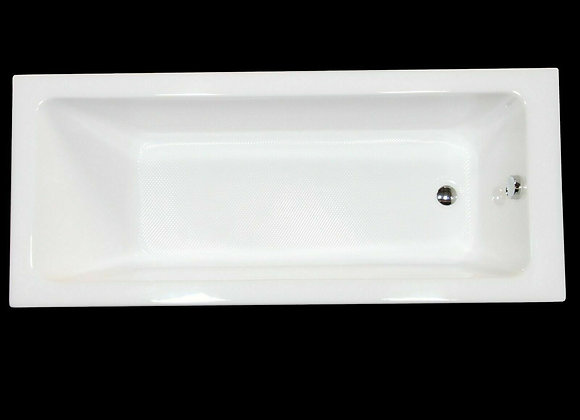 Bath tub Single Ended Acrylic KLARA 1800 x 800 mm