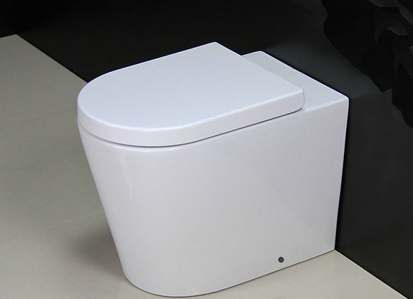 Back to wall Toilet WC Soft Close Seat Cover IN stock