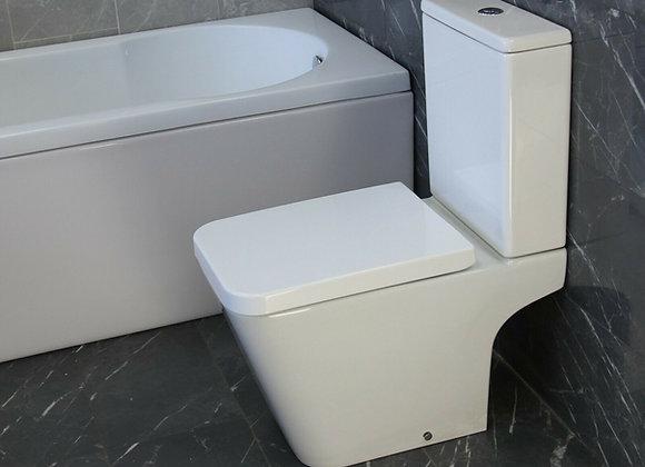 Toilet WC Close Coupled Bathroom Cloakroom