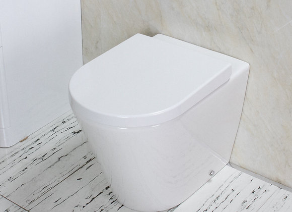 Back to wall Toilet WC Soft Close Seat