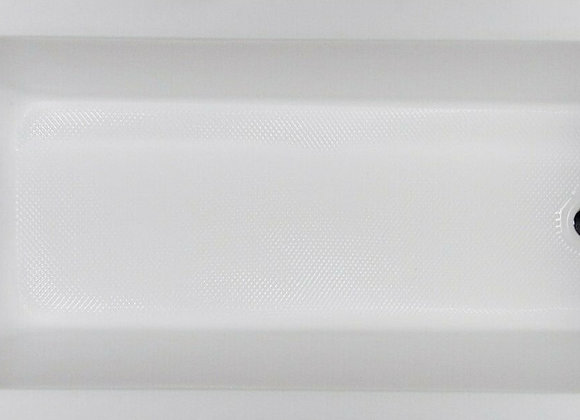 Bath tub Single Ended Straight Acrylic KLARA anti-slip