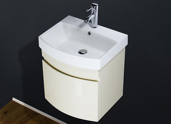 Vanity Unit Cabinet Basin Sink Bathroom Wall Hung Mounted 500mm