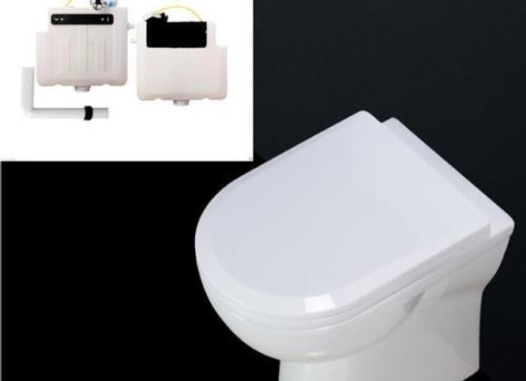 Toilet back to wall rimless Concealed Cistern