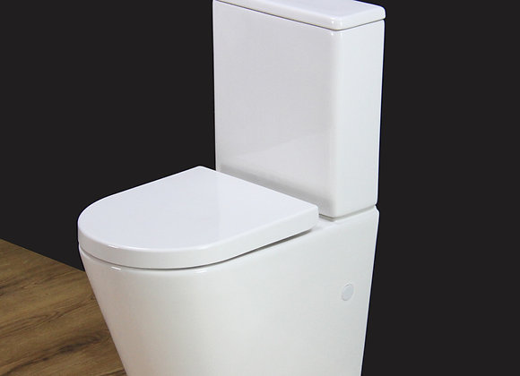 Toilet Close Coupled Soft Close Seat Cover