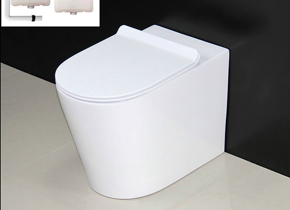 Toilet Back to wall Concealed Cistern Slim line Seat
