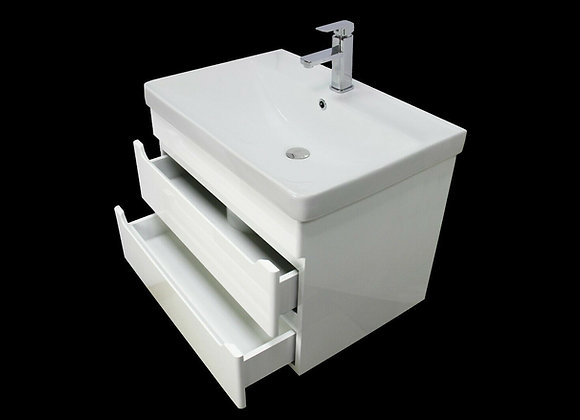 Vanity Unit Cabinet Basin Sink Bathroom Wall Hung