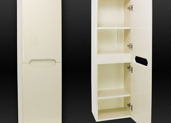 Wall Hung Mounted Cabinet Storage Side Unit Tall