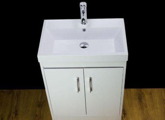 Vanity Unit Cabinet Basin Sink Bathroom Floor mounted 500MM