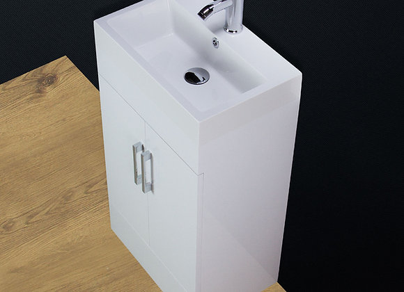 Vanity Unit Cabinet Basin Sink Square Style 500MM