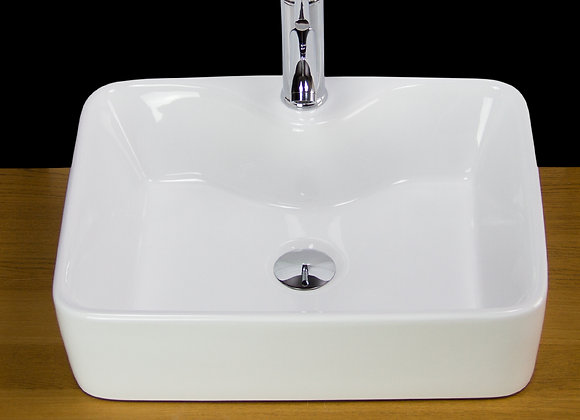 Bathroom Basin Sink Countertop Cloakroom Square